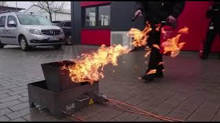 """Eine weiterer Baustein der Ausbildung unserer Mitarbeiter """"Brandschutz"""""""